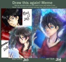 Draw this again meme by ToffeeNuelle