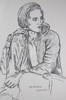 Rob: Pen Drawing by the-duckie