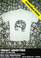 freaky mind tees by titoyusuf