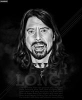 Dave Grohl - Musicians Series by rafaelccosta