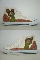 Vomit Sneakers by Teagle