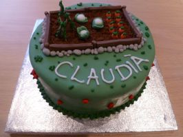 Allotment Garden Cake by Rebeckington