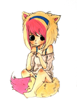 Transparent Foxy by cattuccino