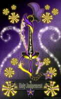 Keyblade Holy Judgement by Marduk-Kurios