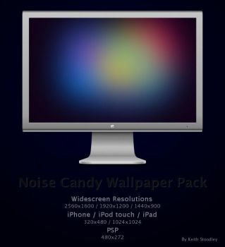 Noise Candy Wallpaper Pack by KeithjS