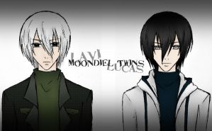 Moondiel Twins by Seething-Repentance
