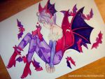 Lilith by paperscarecrow