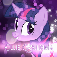 Ellie Goulding - Lights (Twilight Sparkle) by AdrianImpalaMata