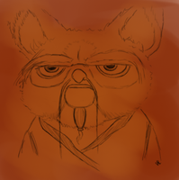 Master Shifu sketch by Alisha-town
