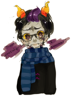 Eridan: cry like a little girl by Costly