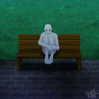 Too Sexy for this Bench by wondering-souls