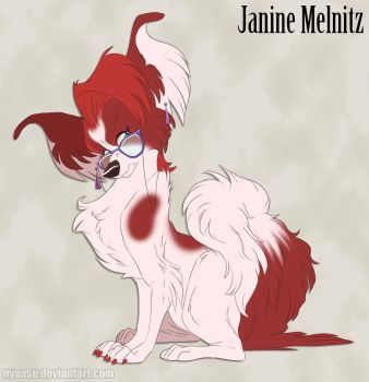 Janine Melnitz - Cranky but Sweet Doggo by Nyaasu