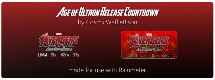 Avengers: Age of Ultron (Movie) Countdown by CosmicWaffleBison