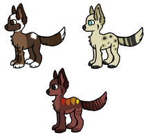 Adoptables by FRUlT