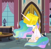 King of Equestria by RedApropos
