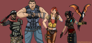 Borderlands Crew by Mitszell