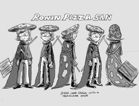 Ronin Pizza Turn Around by Odori