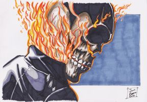 The Ghost Rider by samrogers
