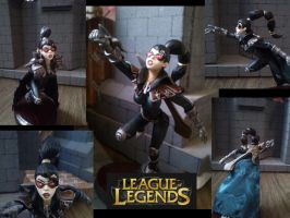 vayne sculpture by enormuseldescomunal
