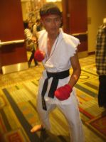Anime Vegas Street Fighter Ryu by Demon-Lord-Cosplay