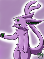 Espeon Jerry by TheRealPhoenix