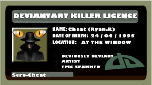 Killer's licence by Sero-Cheat