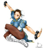 Street Fighter - Chun-Li by kenken-abu