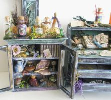 Magic Miniature Cabinet by grimdeva