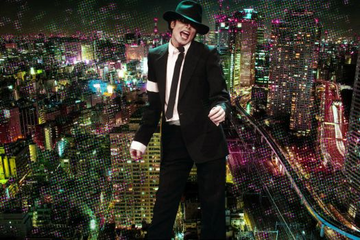 MICHAEL IN THE CITY by KerensaW