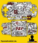my psp 1000 custom skin by justcallmeBECK