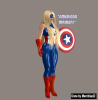 American Maiden 1a by mercblue22