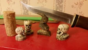 Jacks Custom Carvings and Knives by Deena-Lee-Sauve