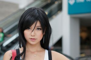 AX2013 Cosplay 67 - Tifa Lockhart by LaffingStock