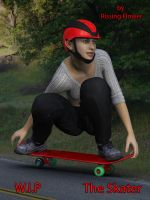 The Skater by RissingFlower