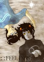 Homestuck - Feelings fancomic - by Keed-Kat