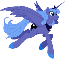 Flying through the Night by Trunksi