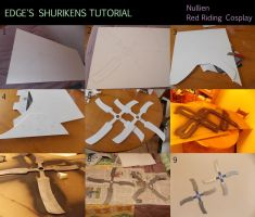 Edge's shurikens tutorial (Final Fantasy IV) by Nullien