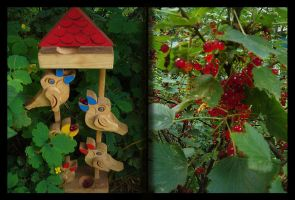 birds love currants by antiMark