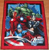 Avengers Panel Quilt 2 by quiltoni
