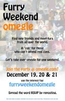 Furry Weekend Omegle by Dragonous3