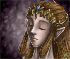 Princess Zelda - art by LiKovacs