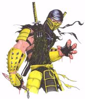 SCORPION by yacobucci