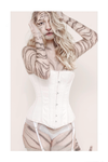 White Tiger - White Corset by OdysseusUT