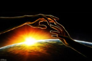 Reaching Out - Digital Painting by ArtemAmoris