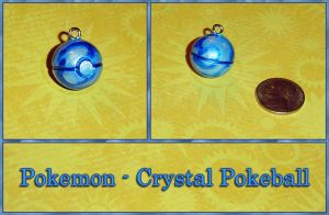 Pokemon - Crystal Pokeball by YellerCrakka