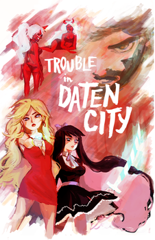 trouble in daten city by chupachup