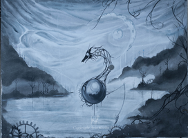 The Desolate Gray by ShePaintsWithBlood
