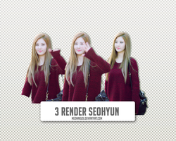 3 Render Seohyun by Meow by meowngusi