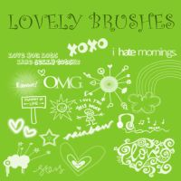 Lovely Brushes 2 by KrisPS