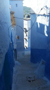 Medina Chaouen: Shadow and Light by Pit7